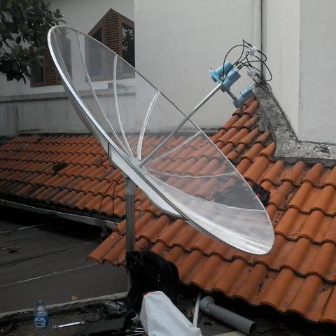 Pasang Parabola 3 Satelit Murah di Semarang