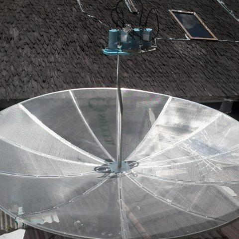 Jual+Pasang Antena Parabola Jaring 4 Satelit di Semarang