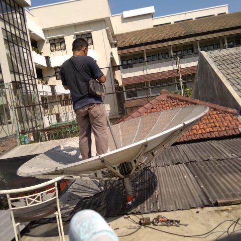 Pasang Parabola Jaring 2 Satelit Murah di Semarang