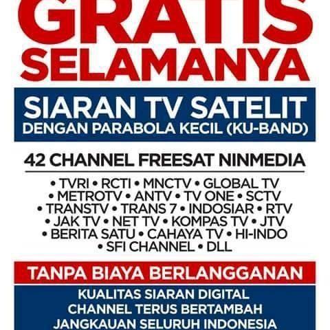 NINMEDIA Semarang| Parabola Mini Tanpa Iuran Bulanan