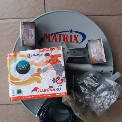 Pasang Mola TV dengan MATRIX GARUDA KU-BAND di Semarang