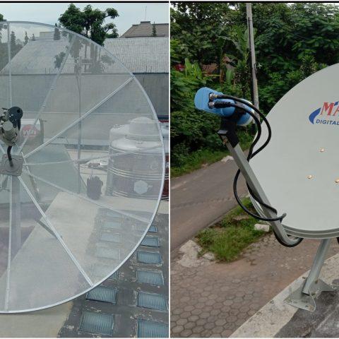 Jasa pasang dan service parabola jaring dan parabola  mini di ungaran
