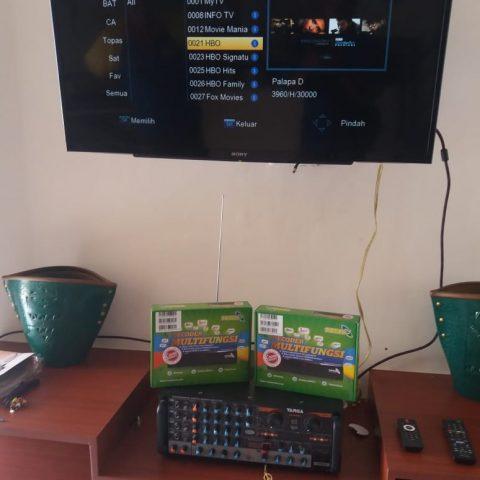 Pasang Topas TV di Perumahan Sinar Sawunggaling, Banyumanik
