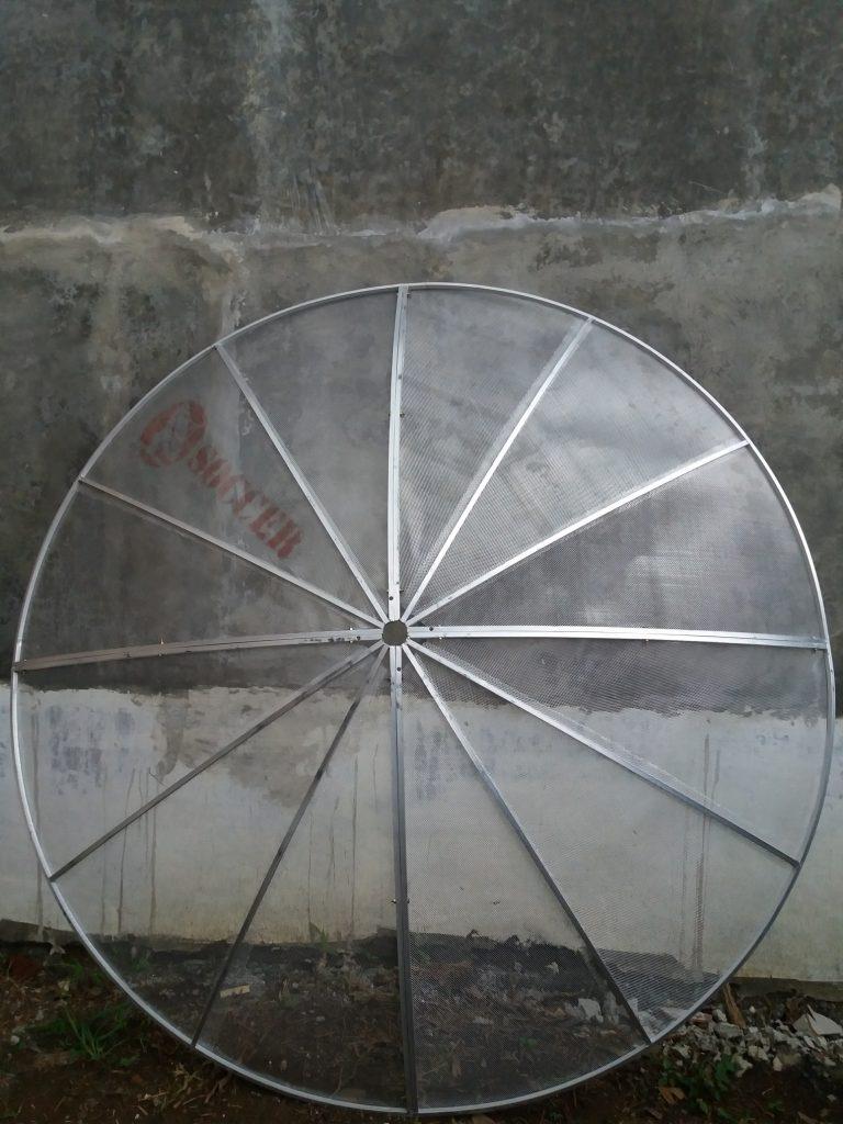 anten aprabola jaring 2 satelit